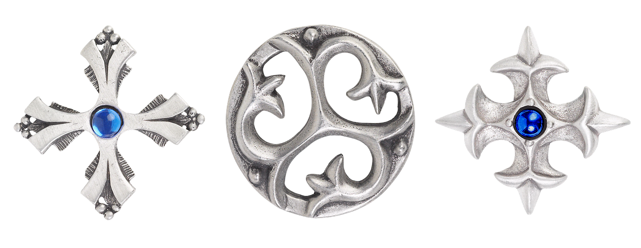 Silberanhänger